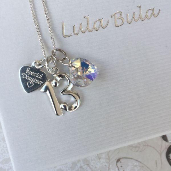 13th birthday jewellery gift